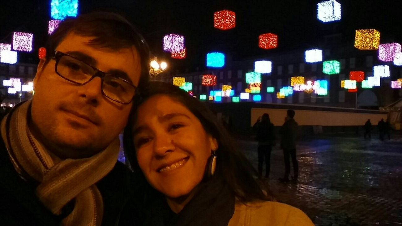 Recuerdos♥ Navidades En Plaza Mayor Madrid Spain con MyLove❤ Faces Of EyeEm