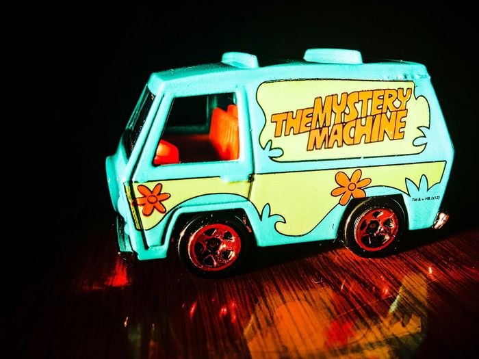 Mysterymachine Scoobydoo Car Cartoon Close Up Check This Out ToysDark