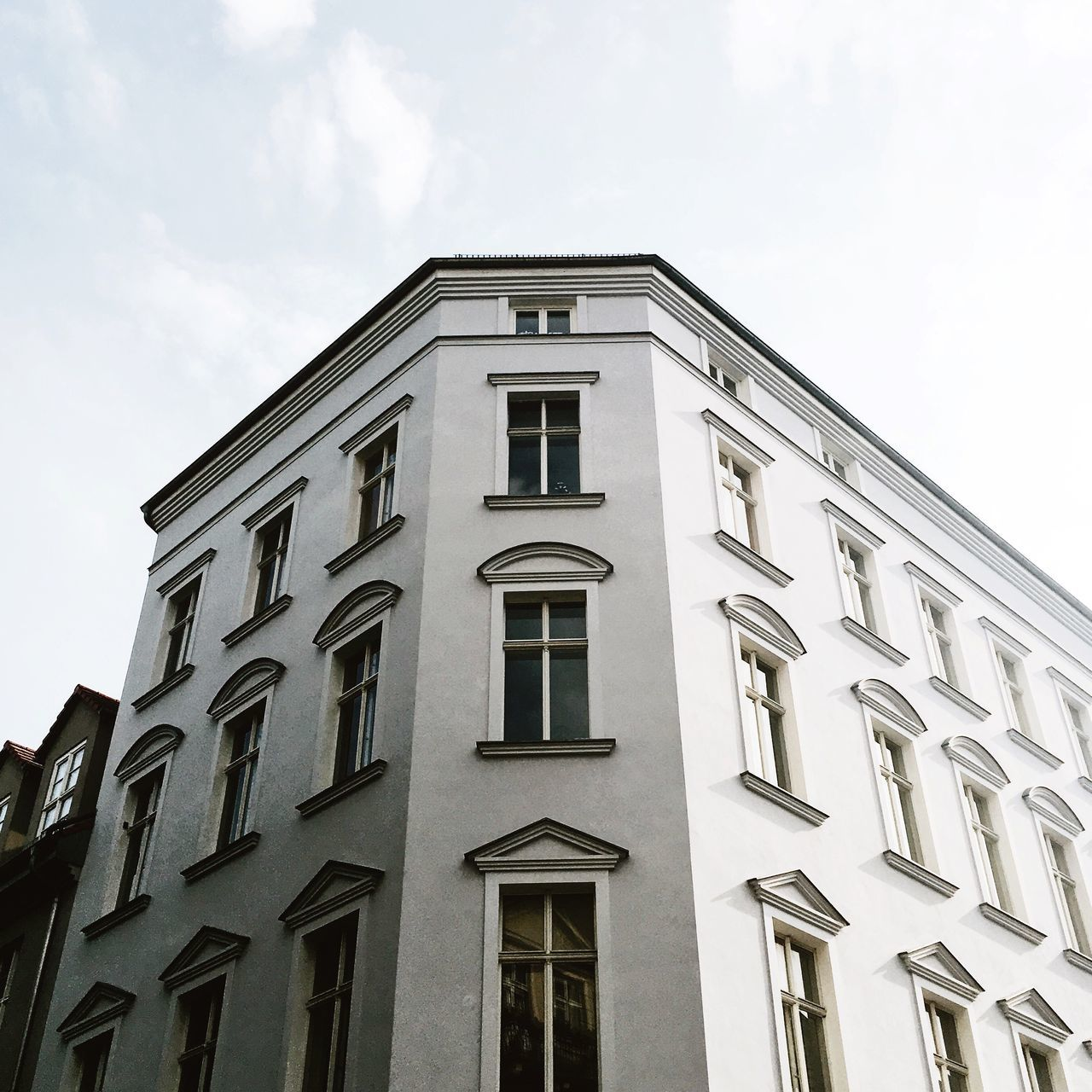 Architecture Berlin City Building Building Exterior Built Structure Day Living In The City Low Angle View Old Buildings Sunny Day White Color Windows