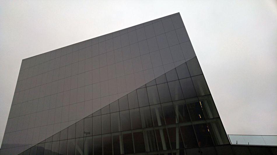 Oblique Slanted Angle Futuristic Modern Glass And Steel Cityscapes Building Unique Perspective Design Architecture Modern Architecture Montréal Canada