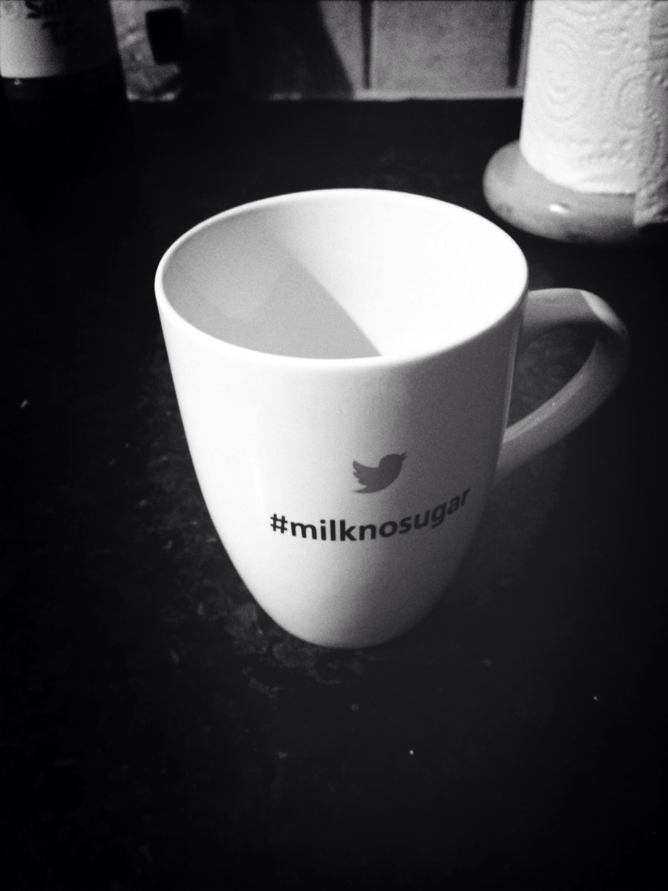 Saucy new mug, courtesy of @kimdarling! Milknosugar