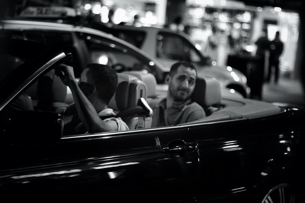 Streetphotography Blackandwhite Shootermag Dudes In Cars