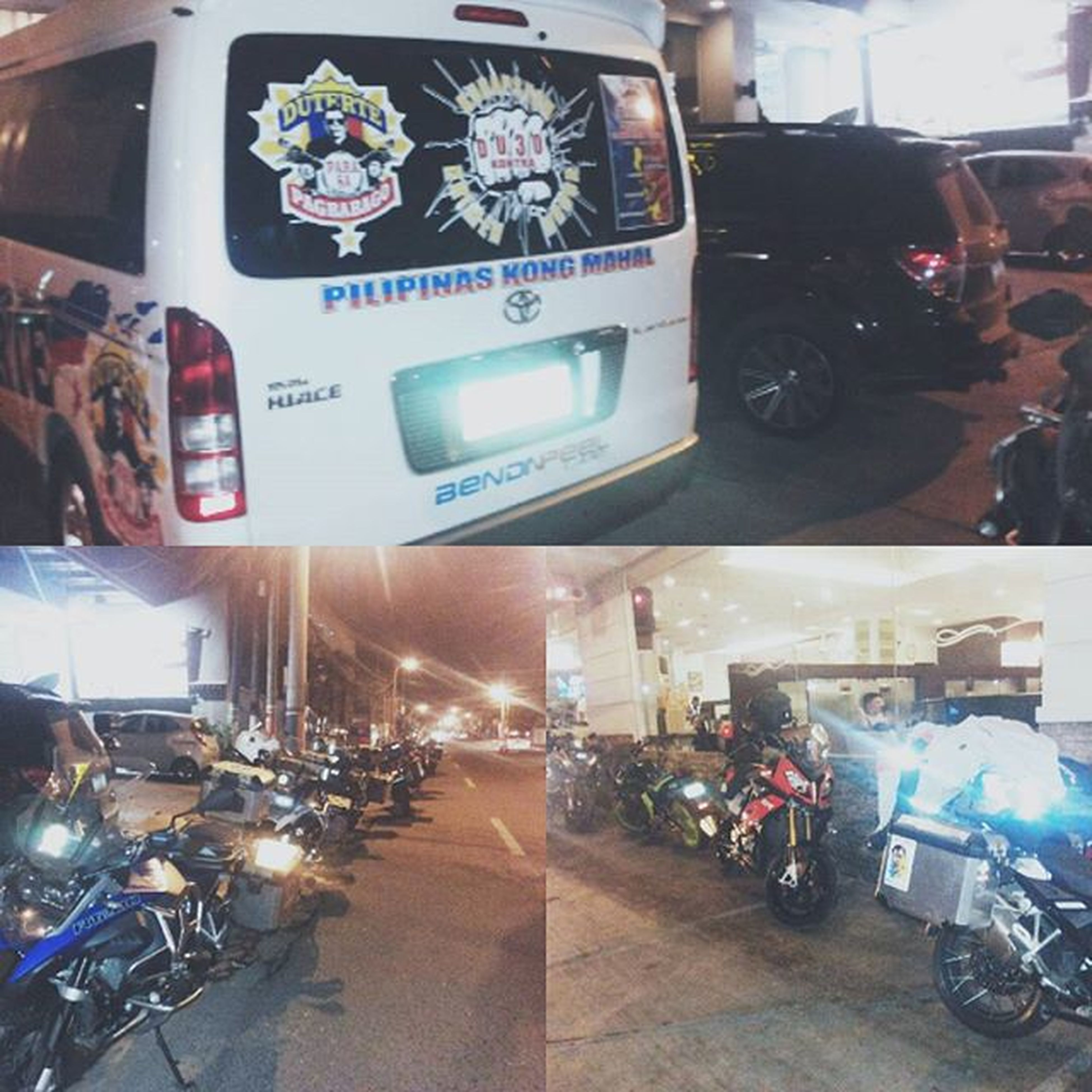 And off they go! Off to Toledo City Earlymorninghustle Duterte2016 Parasapagbabago