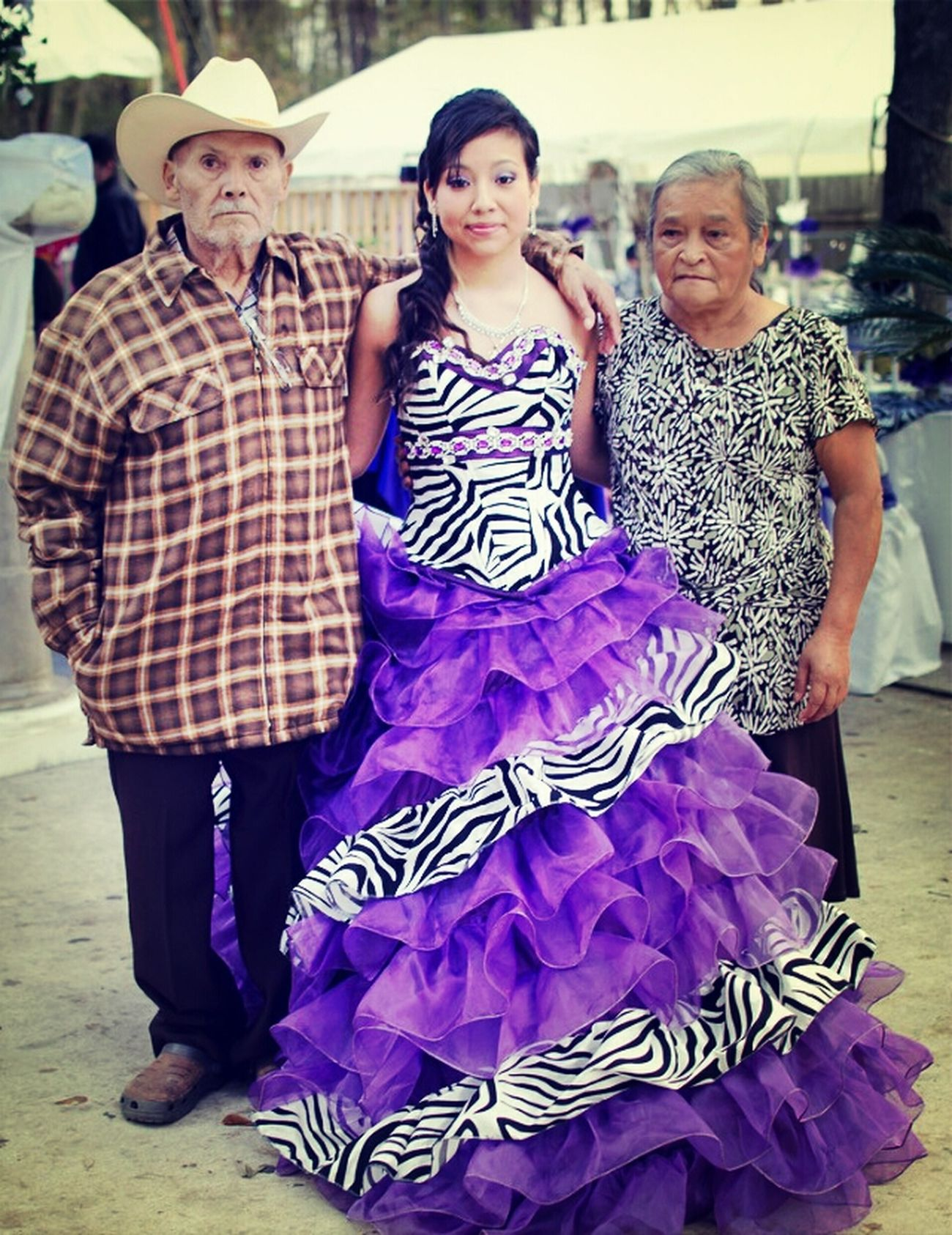 My Wonderfull Cousin And Our Grandparents On Her 15♥