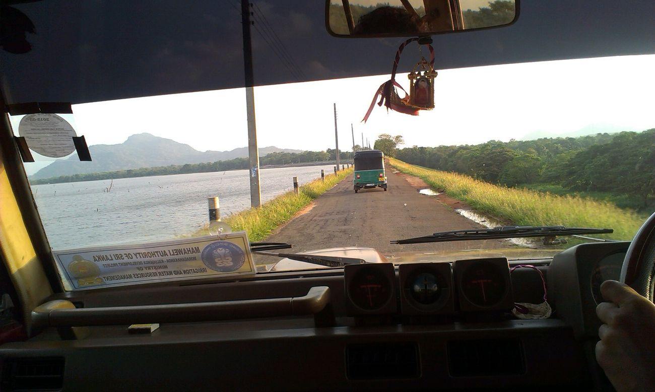 Sri Lanka SriLanka Taking Pics While Driving kandalama On The Road