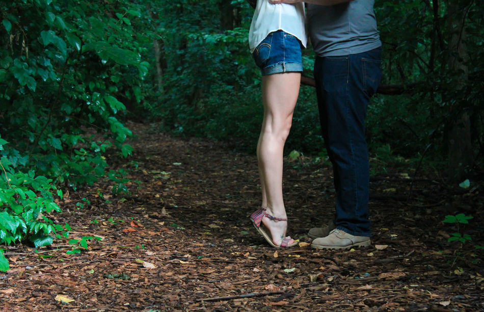 Beautiful stock photos of love,  Casual Clothing,  Couple - Relationship,  Day,  Forest