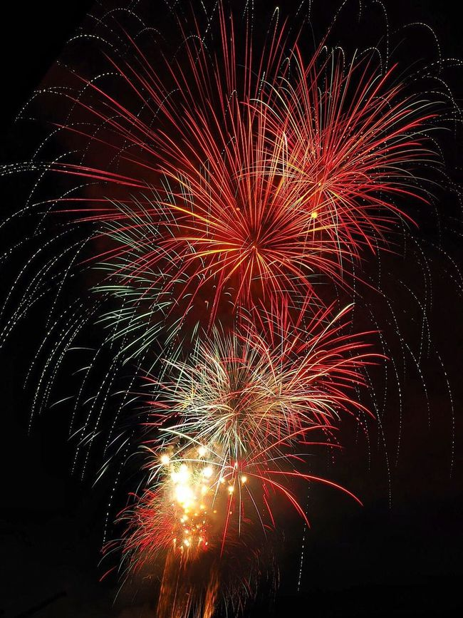 Fireworks Night Sky Outdoors Colors Lightpainting Dark Light Fire