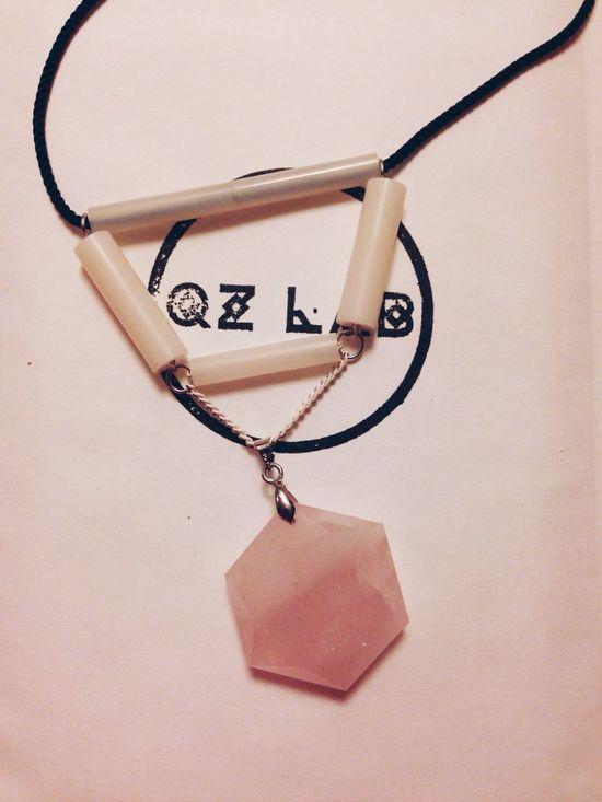 Quartz?? Qzlab Jewelry Designer Necklace