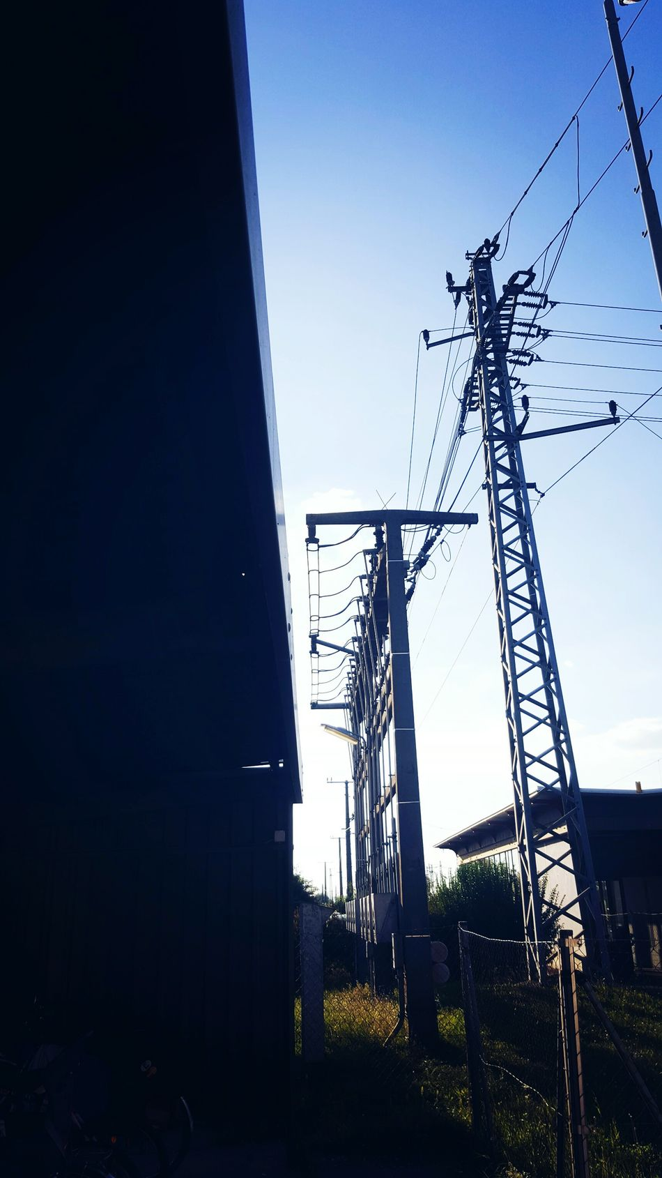 train Station Nature Clear Sky No People Electricity Pylon