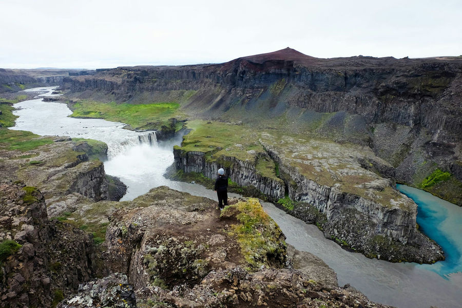 Canyon Iceland Nature Landscape Hafragilsfoss Waterfall Adventure ExploreEverything My Year My View