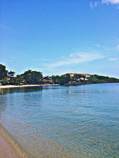 Bahamas Ocean Beach Blue Sky Shack Relaxing Tan Bikini WOW HDR
