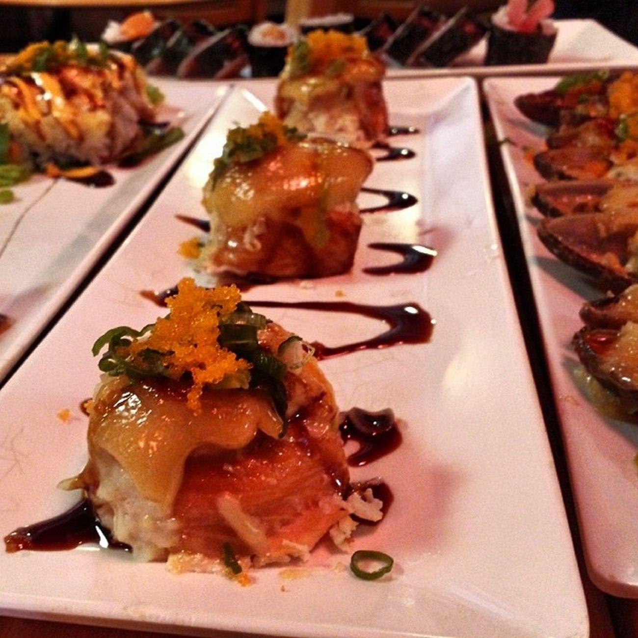 All you can eat sushi, fawwwk 😅😅😅 Asahi Worththetrip Yummy HellaGood behungry nomnom lunch foodporn