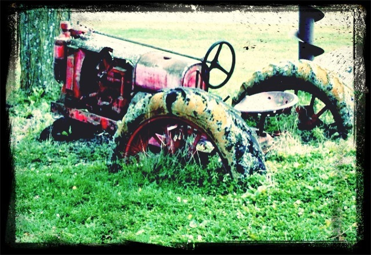 Farm Tractor Stuck Iowa