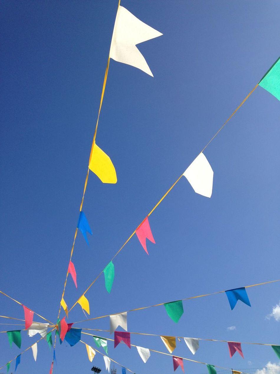 Bandeirinhas de São João Bandeira Colors Colorido Cores Bandeiras Flag Festa Party