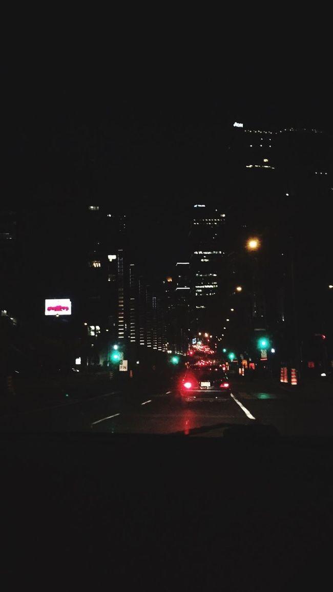 Late night drive Driving Montréal Littlelight