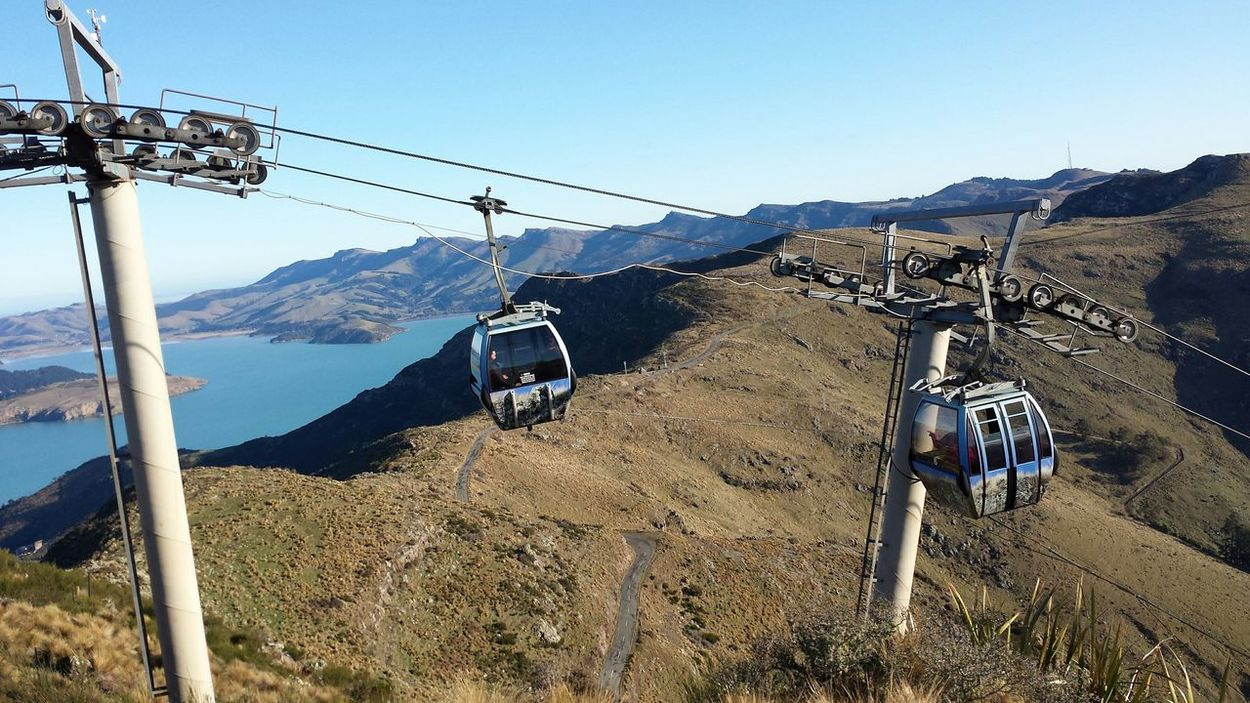 Lyttleton Harbour Gondola Port Hills A Bird's Eye View Two Is Better Than One The Secret Spaces