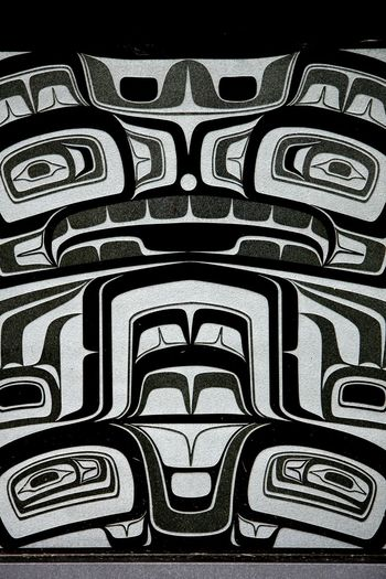 Pattern No People Full Frame Drawing - Art Product Close-up Backgrounds Day Pacific Northwest  Pacific Northwest Beauty Native American Art Native Native American Indian Native Art Native American Art Is Everywhere