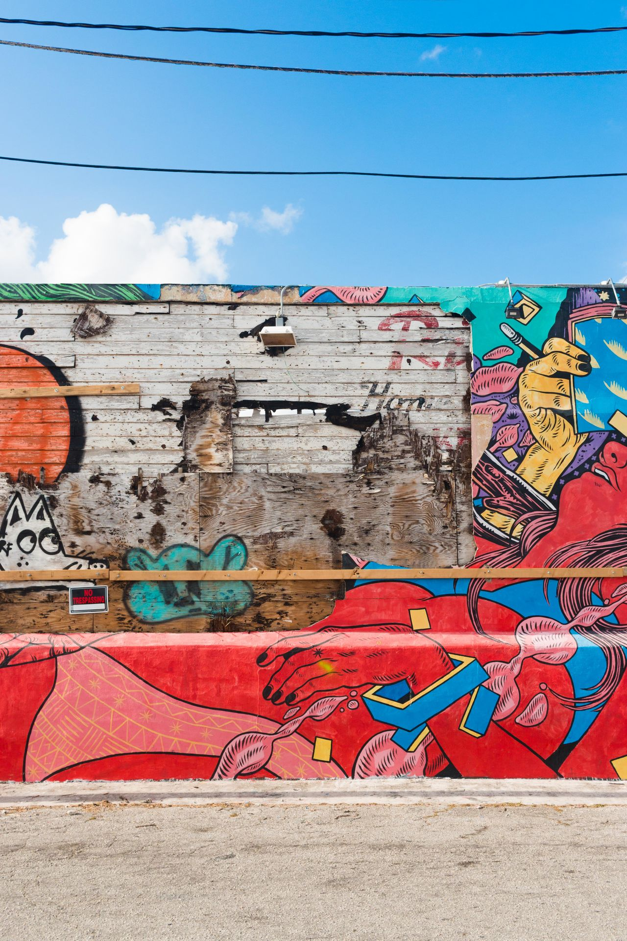 Architecture Building Exterior Built Structure City Day Graffiti Multi Colored No People Outdoors Red Sky Street Art Travel Destinations Wynwood Art Distri Wynwood Walls Wynwoodwalls First Eyeem Photo Neighborhood Map