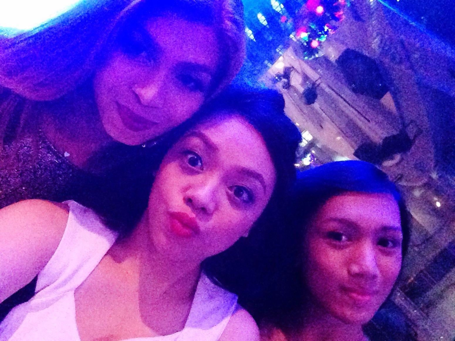 With my Girls !!! ❤️?? Enjoying Life WORKHARD PARTYHARDER ? Taking Photos Eyeem Philippines Smile