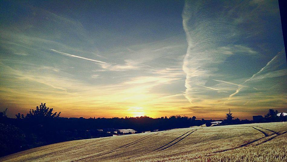 Taking Photos Dresden Taking Photos Beautiful Nature Nature_collection Sun&Clouds Sunset_collection