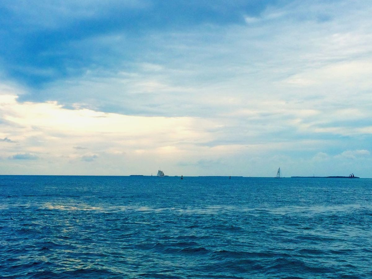 Cloudy day in KeyWest Florida Keywest Waterview Gulfofmexico Conchfused Travel