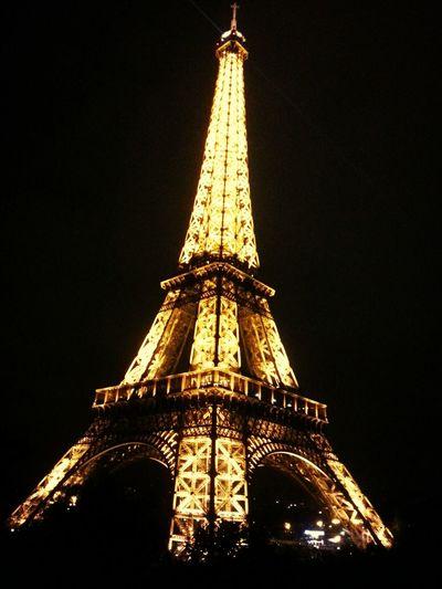 Paris Tour Eiffel Nightphotography Enjoying Life