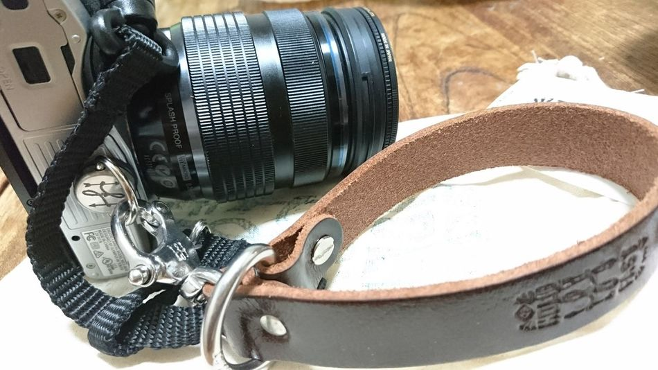 Indoors  IBoughtThis Leash Olympus Hold Fast Camera Accessaries Leather