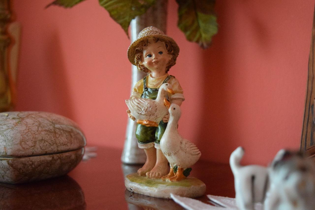 #boywithbirds #ceramics #design  #goose #home #homedecor #pinkwall #shabbychic