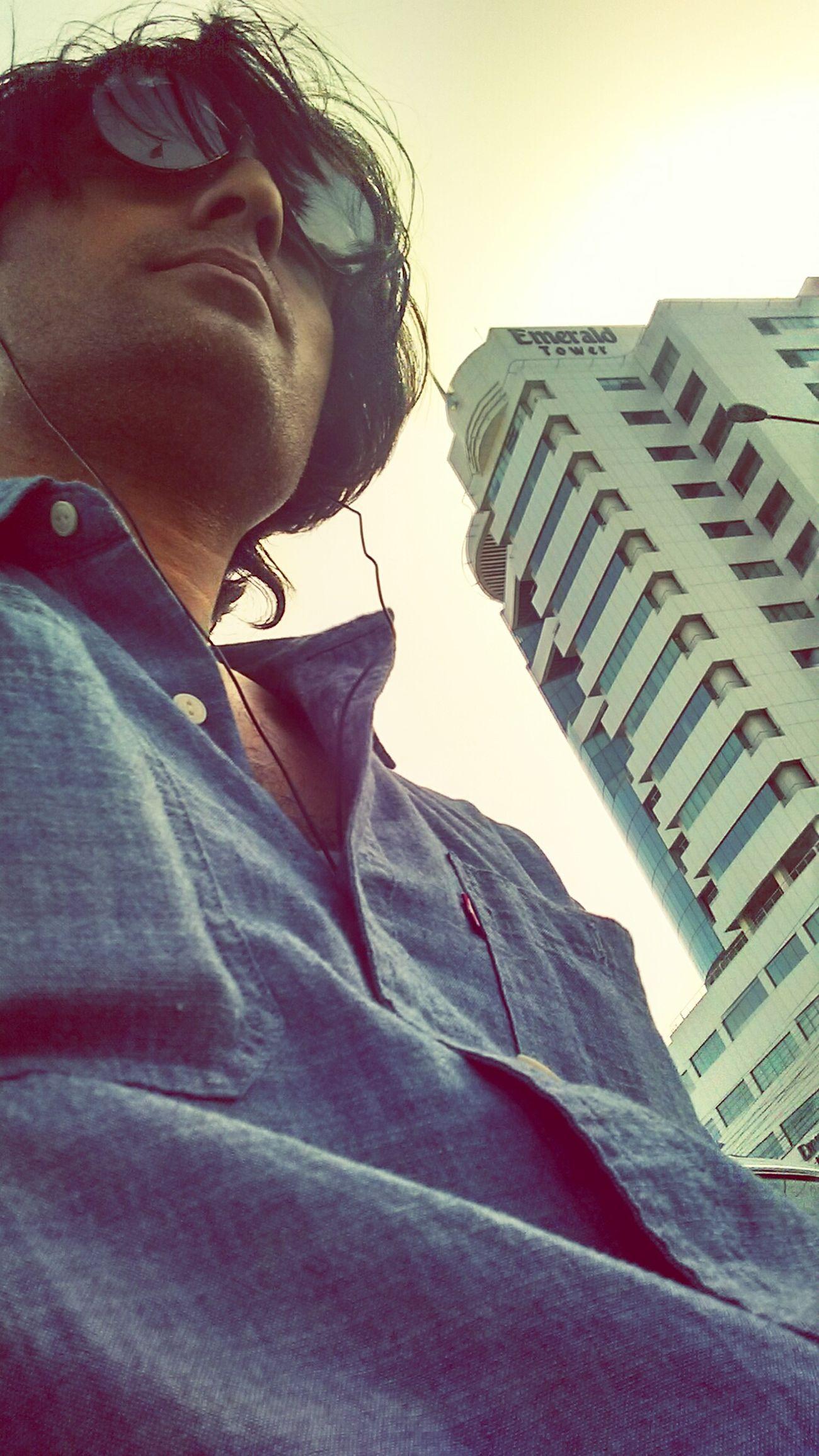 Selfie Mobilecam City Outdoors Sky Free Evening Karachi Pakistan First Eyeem Photo