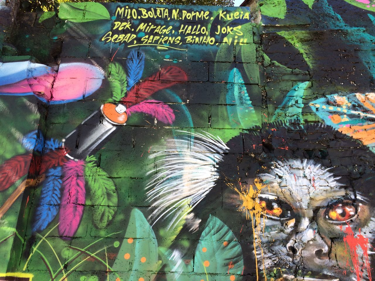 multi colored, art and craft, creativity, graffiti, day, outdoors, no people, close-up