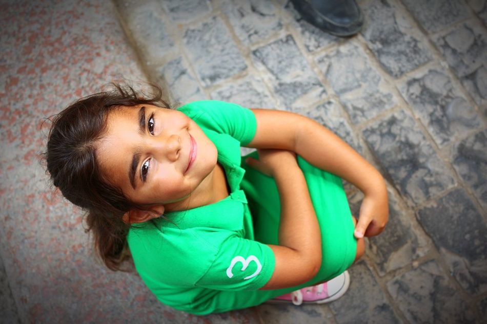 Happiness One Person High Angle View Smiling Beauty Khanelkhalili Daughter