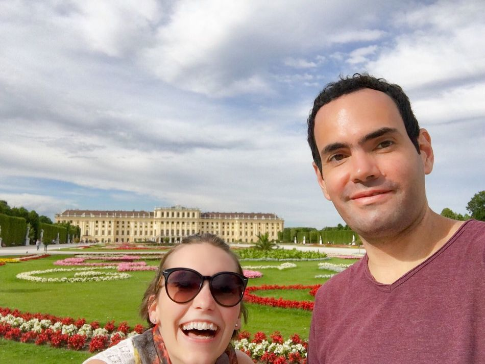 Shönbrunn Portrait Sky Looking At Camera Headshot Cloud - Sky Smiling Young Adult Growth Happiness Outdoors Nature Men Day People Adult Man Woman Sunglasses Palace Formal Garden Plants And Flowers Clouds And Sky