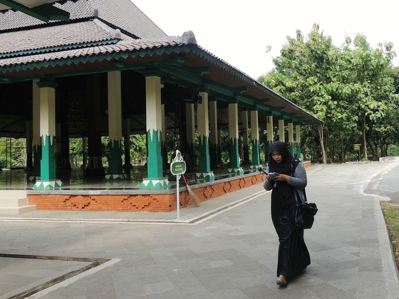 The Architect - 2016 EyeEm Awards Architecture_collection Architecture Keraton Kasepuhan Visit Indonesia Woman Women Women With Headdress in Cirebon  , INDONESIA Film