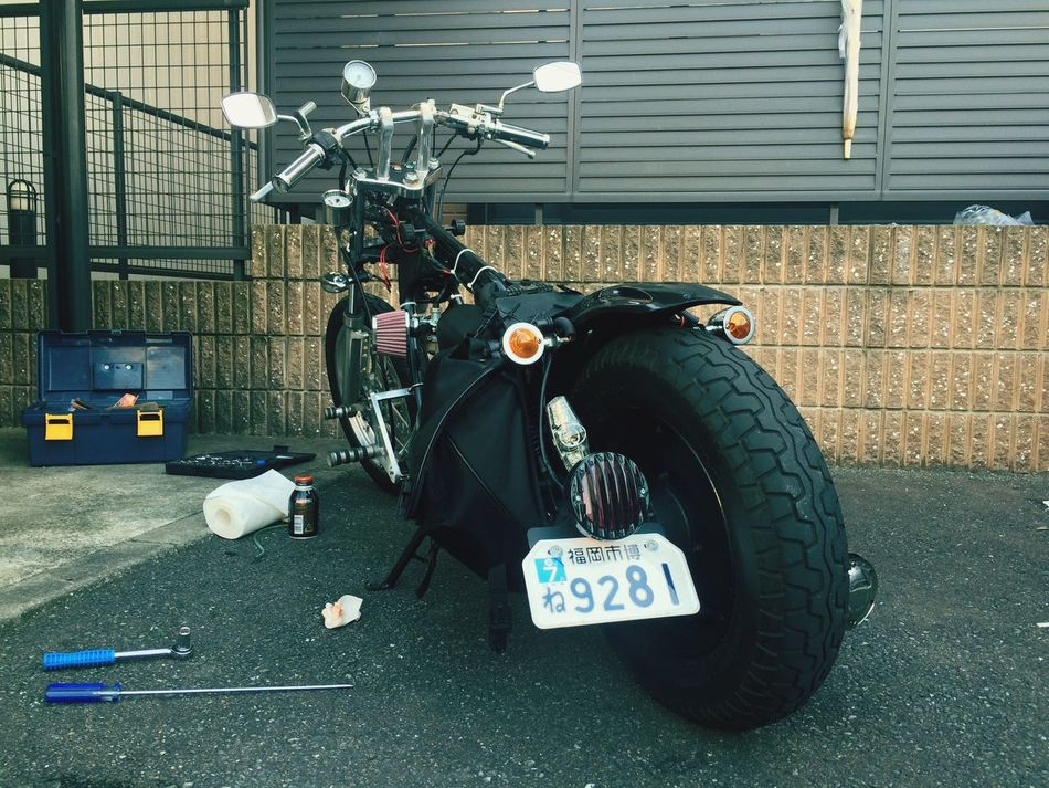 Motercycle Honda Magna50 マグナ50 Moterbike