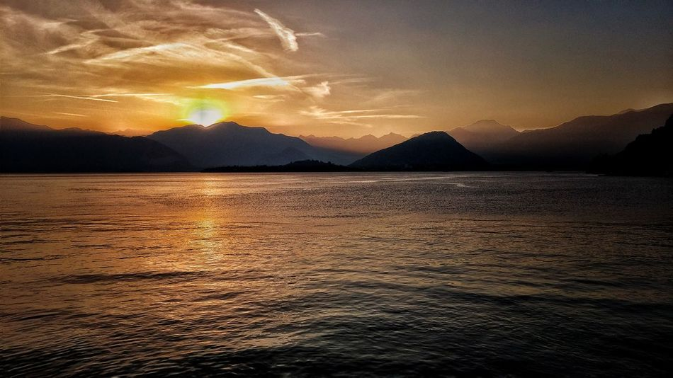 Sunset Dramatic Sky Mountain Beauty In Nature Landscape Scenics Extreme Weather Nature Outdoors Lightning Sky No People Power In Nature Night Thunderstorm EyeEm Best Edits EyeEm Gallery EyeEmbestshots EyeEm Nature Lover Lake Superior Lagomaggiore Laveno Clouds And Sky Sunset_collection