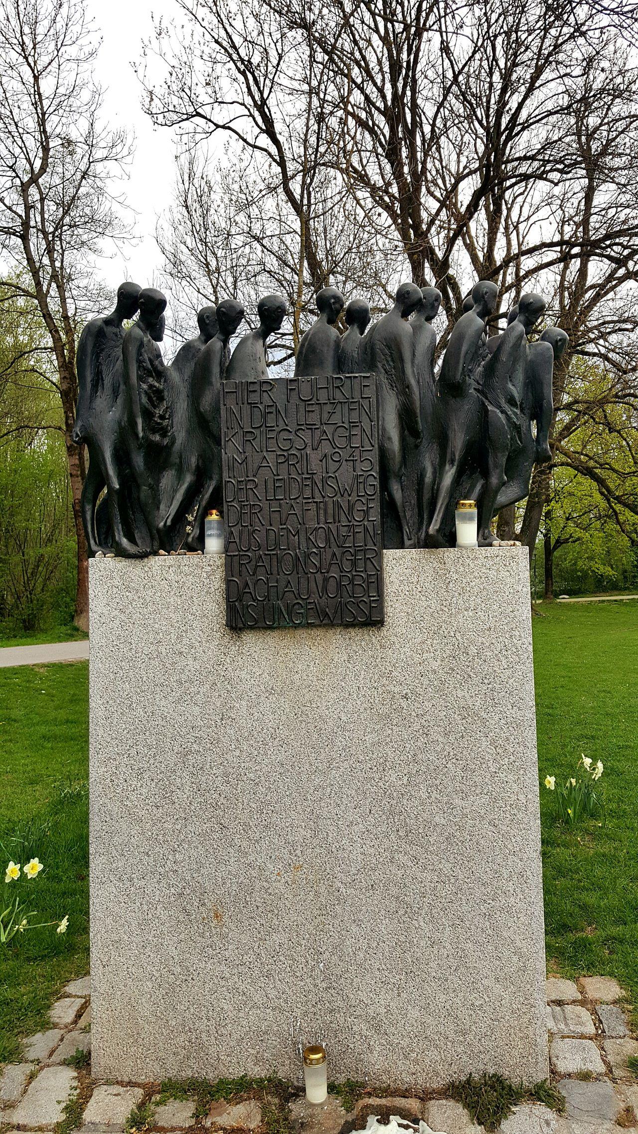 Schloss Blutenburg, München Memorial Art And Craft Tree Sculpture Statue Sky SchlossBlutenburg München GERMANY🇩🇪DEUTSCHERLAND@ KZ Dachau Holocaust Memorial Holocaust Holocaust-Mahnmal EyeEmDiversity Eyemmagazine