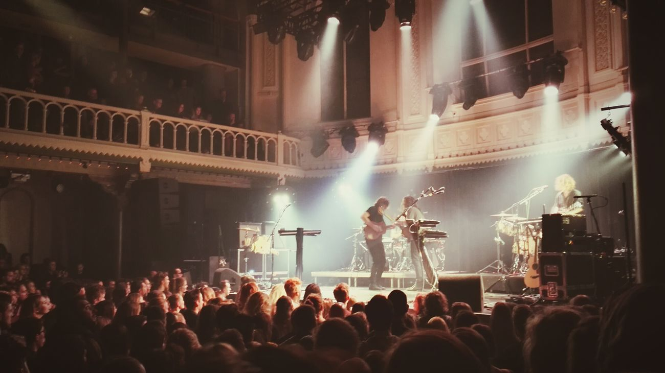Half Moon Run Halfmoonrun Indie Indierock Concert Paradiso Amsterdam Guitar Duet
