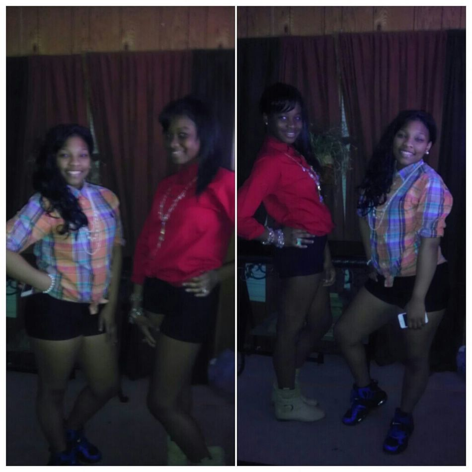 me && my sistaa , cooling
