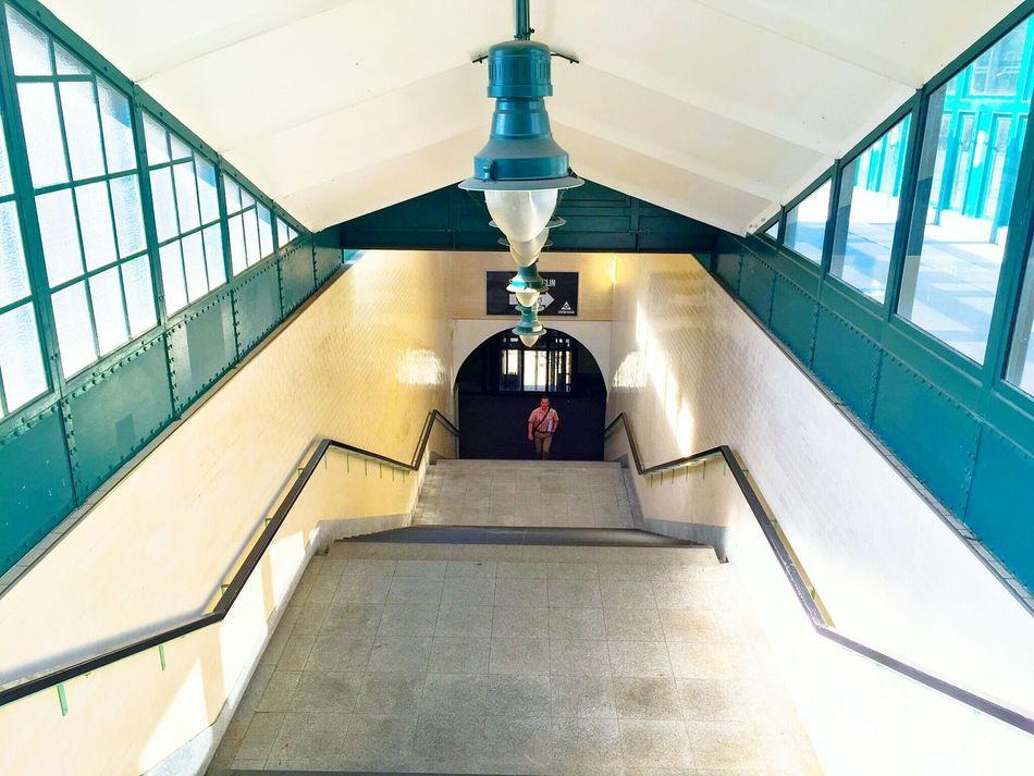 Stairs Stairways Train Stairs_collection Stairs_collection Stairsporn Stairs_steps Ubahn Station Gleisdreieck Subway Stairwell My Commute