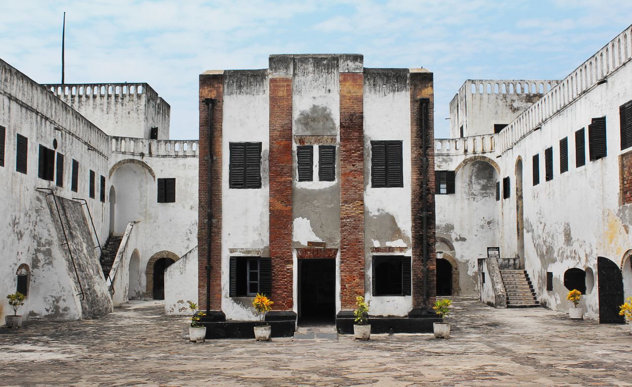 A Colonial Vestige of a Church. The Portuguese Church in the St. George's Castle in Elmina, Central Region, Ghana. Architecture Brick Wall Building Building Exterior Castle Church Fort Ghana Historic Historical Building History Old Old Buildings Past Slavery Symmetrical Symmetry Trade Window Eyeemphoto