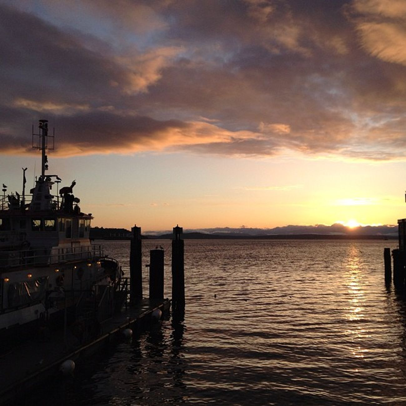 Another Seattle sunset. Nofilter