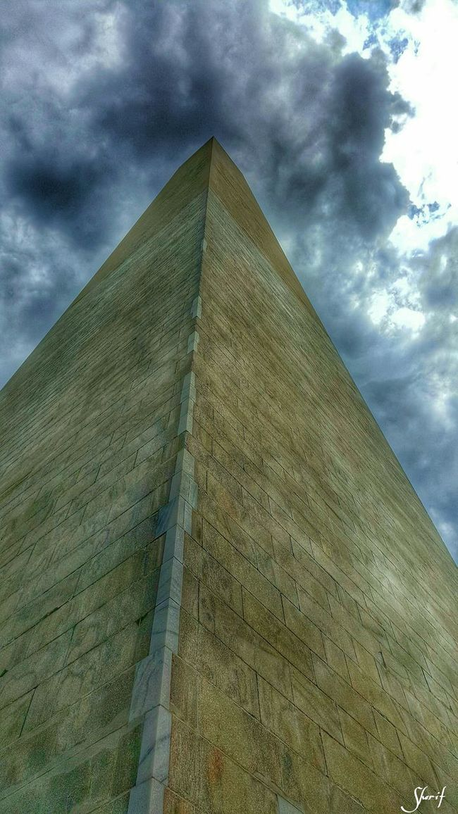 The Washington Monument. Photography Monuments Of The World Washington, D. C. Structure POV