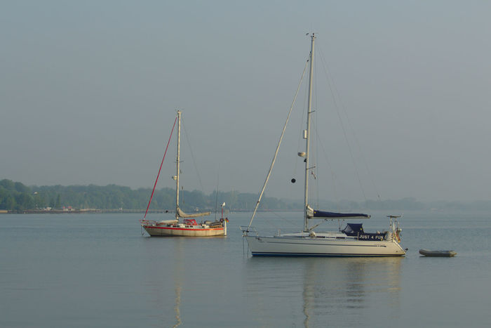 Sailing Sailboat Sail Relaxing Hanging Out Stralsund  Hafen Hafencity Harbour Harbour View