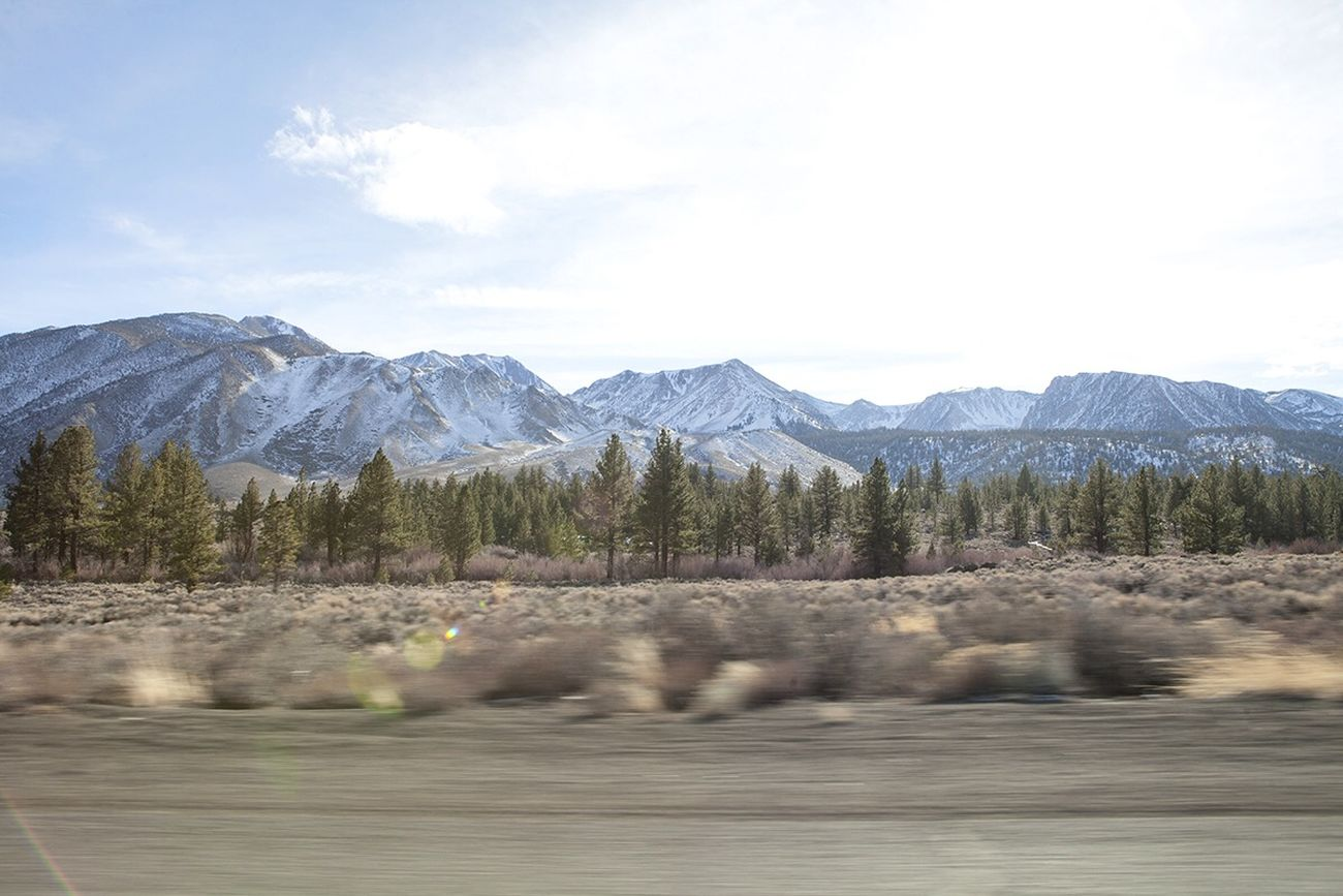 Sierra Nevada Mountains California On The Road Road Trip Portrait Of America