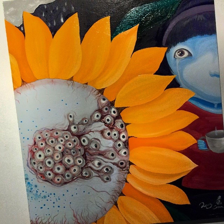 Oilonthecanvas Sunflower Art Artshow