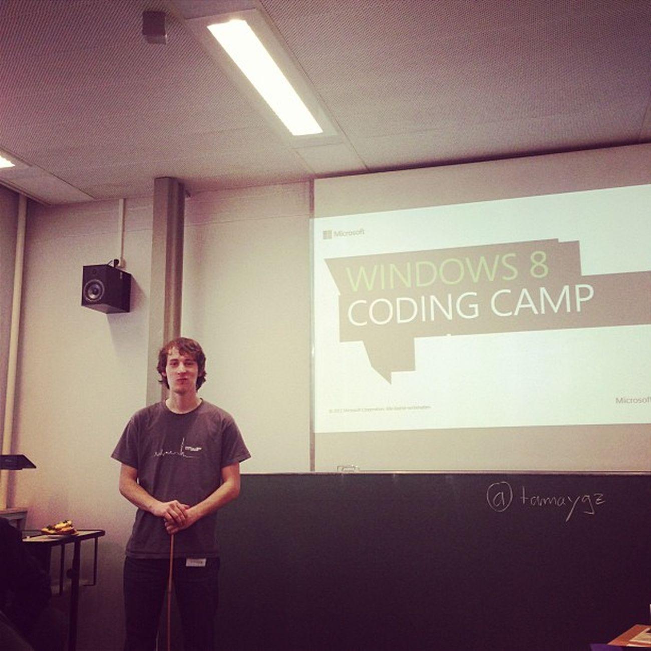 Hallo, kaibrummund! #win8codingcamp Win8codingcamp