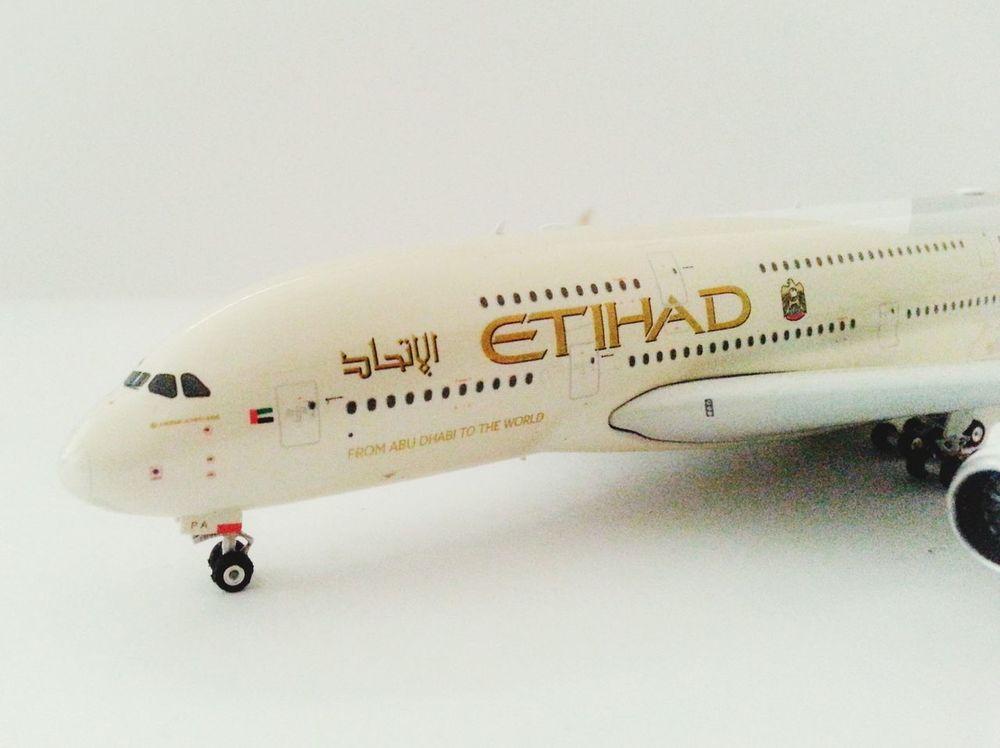 Aircrafts Etihadairways Airbus A380