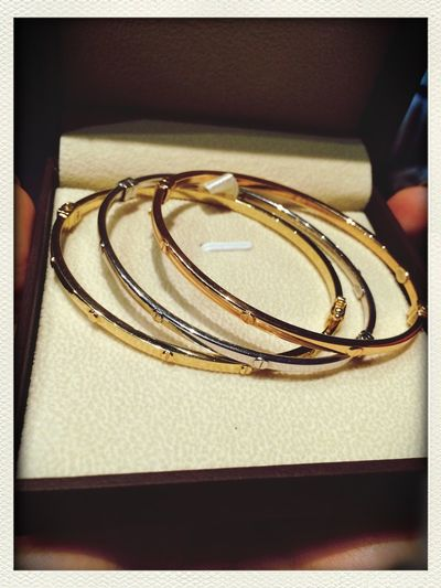 Cartier Bracelets got'em today.?