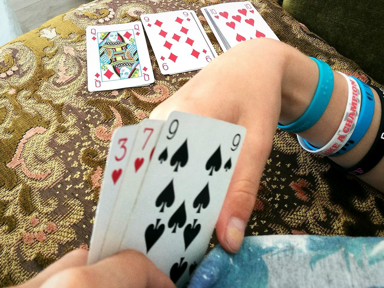 People Together Playing Cards Playingcards Enjoying Life Cabin Life When It's Raining Summerlife Cards Game Cards Social Activity Relaxing