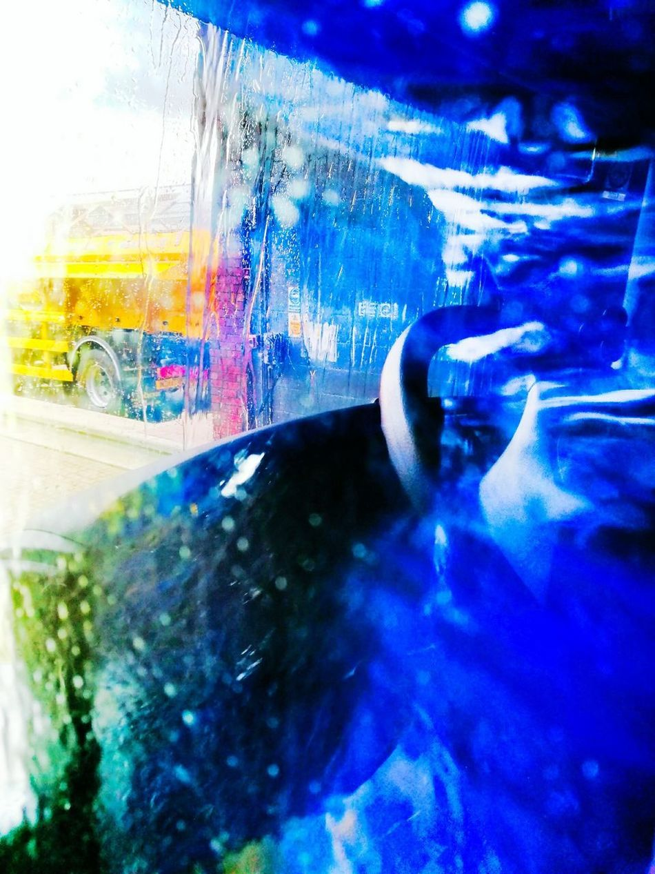 Truck wash Car Car Interior Close-up Wet Multi Colored Land Vehicle No People Day Water Indoors  Transportation Car Wash Abstract Car Wash Leica Lens Huwei P9 EyeEmNewHere